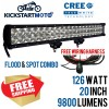 126W 20 INCH CREE LED Light Bar