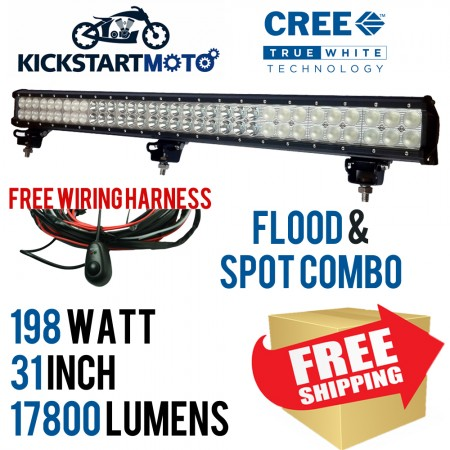 198W 31 INCH CREE LED Light Bar