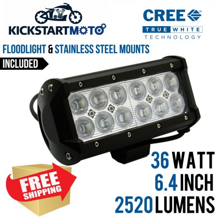 36 WATT 6.4 INCH CREE LED FLOODLIGHT